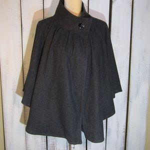 Ann Taylor Wool Cape Size S/M